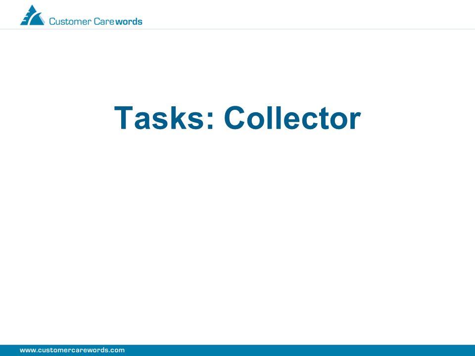 Tasks: Collector