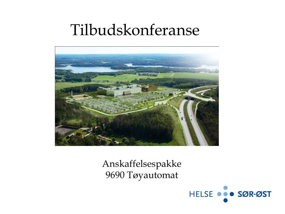 Anskaffelsespakke 9690 Tøyautomat Tilbudskonferanse