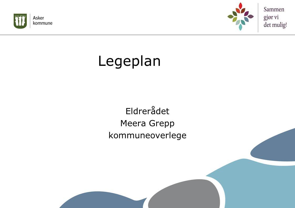 Legeplan Eldrerådet Meera Grepp kommuneoverlege