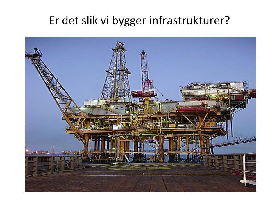 Er det slik vi bygger infrastrukturer