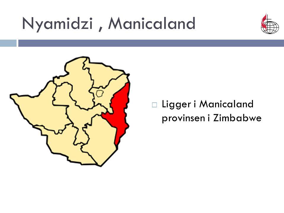 Nyamidzi, Manicaland  Ligger i Manicaland provinsen i Zimbabwe