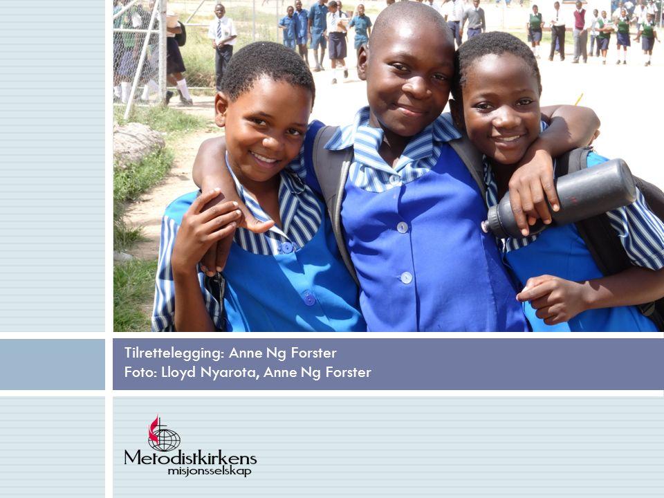 Tilrettelegging: Anne Ng Forster Foto: Lloyd Nyarota, Anne Ng Forster