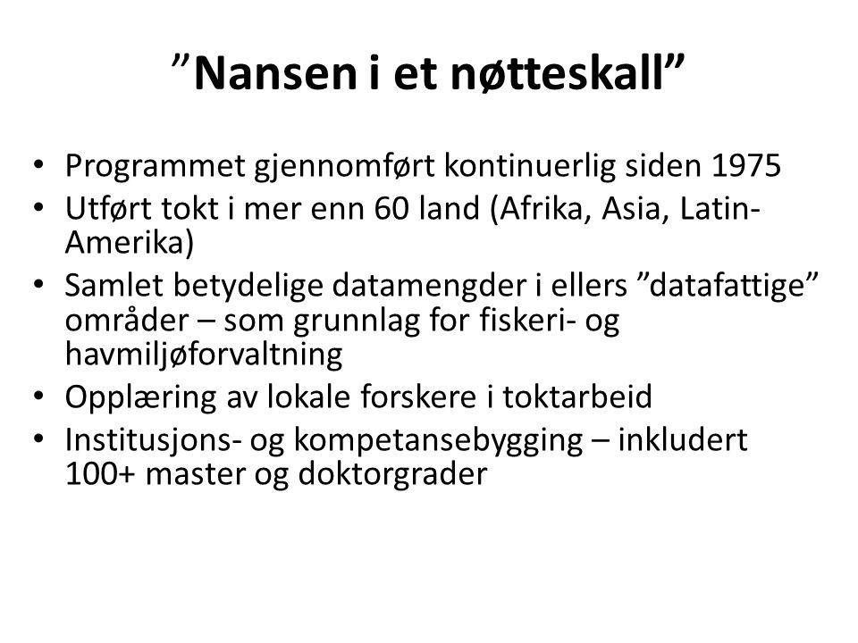 Fisk for utvikling – når skal Norge satse.