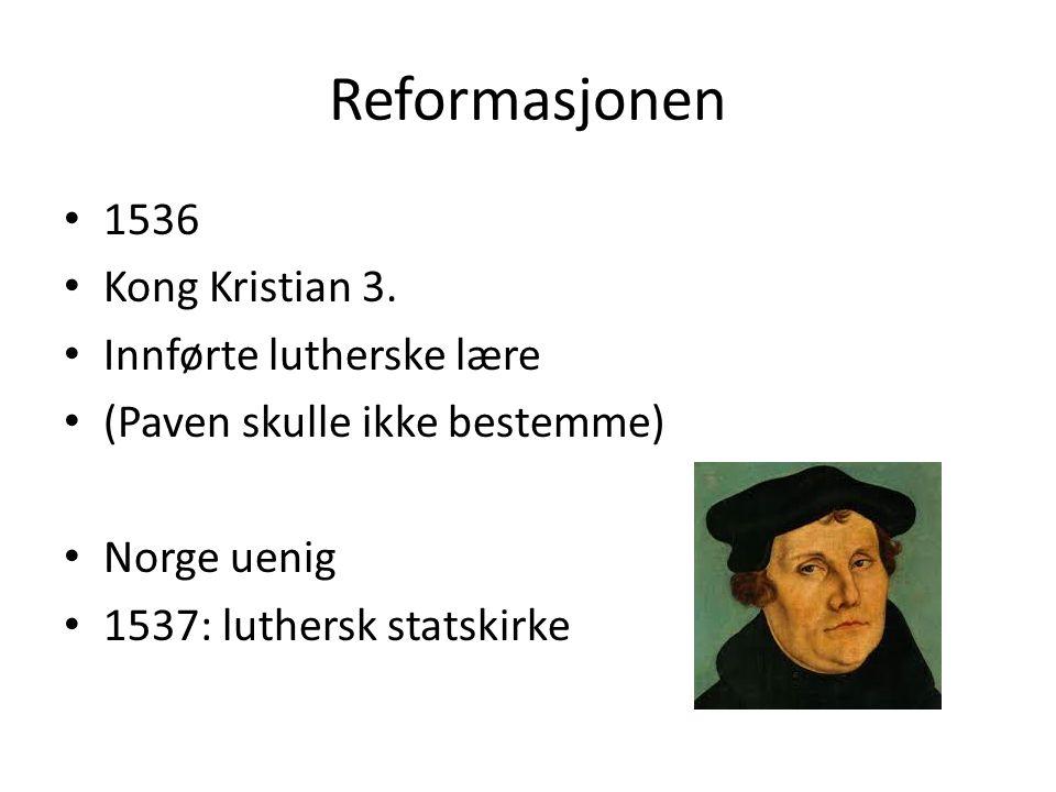 1536 Kong Kristian 3.
