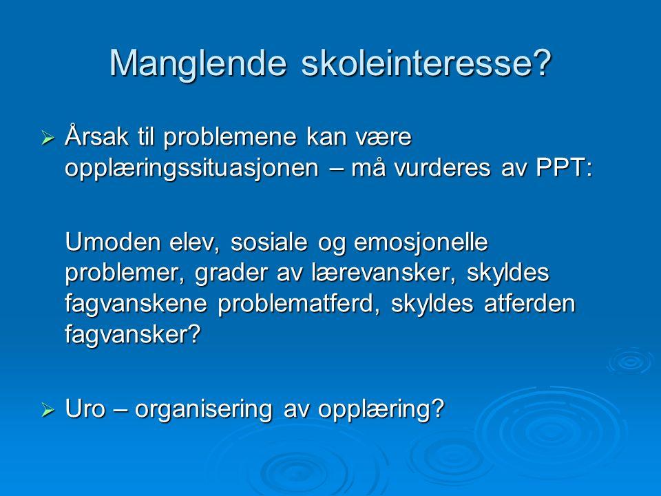 Tiltak -  Det mest adekvate tiltaket bør altså være at elevene får opplæring i norsk samtidig med at de får mulighet til å bruke morsmålet for å tilegne seg faglige kunnskaper.