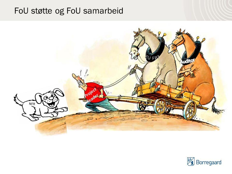 FoU støtte og FoU samarbeid NFR