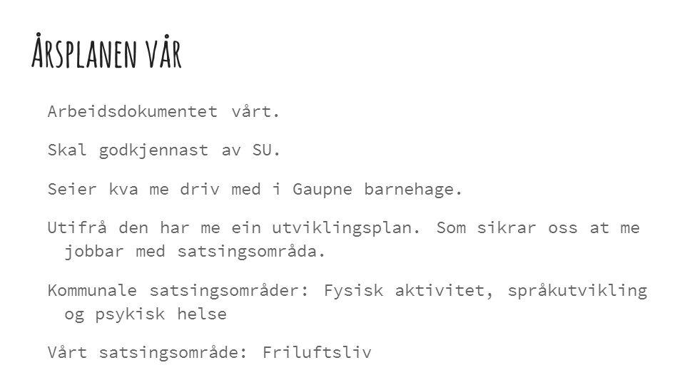 LEIK http://www.aftenposten.no/meninger/debatt/Femaringar-larer-best-gjennom-leik-96480b.html Stortingsmelding 19: lite fokus på leik.