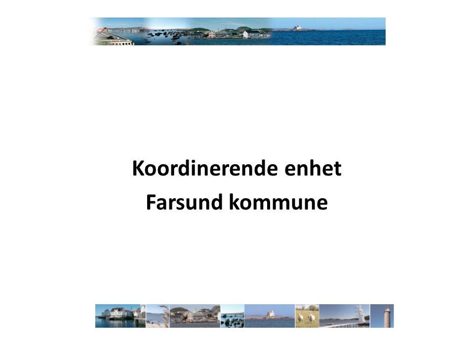 Koordinerende enhet Farsund kommune