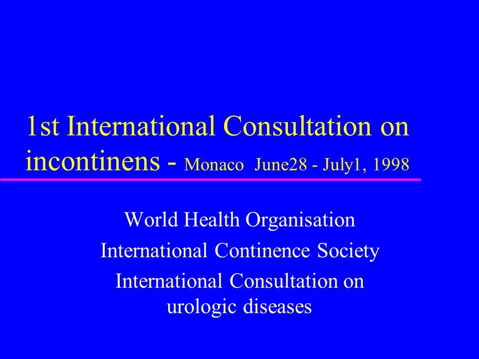 Årlige utgifter i forbindelse med inkontinens ( Sverige ) u Langtidspleie 1 milliard u Bleier 660 millioner u Medisiner 64 millioner u Kirurgi 59 mill