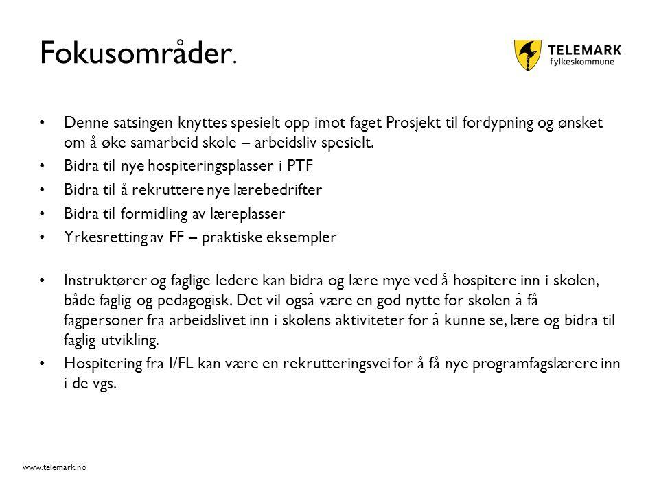 www.telemark.no Fokusområder.