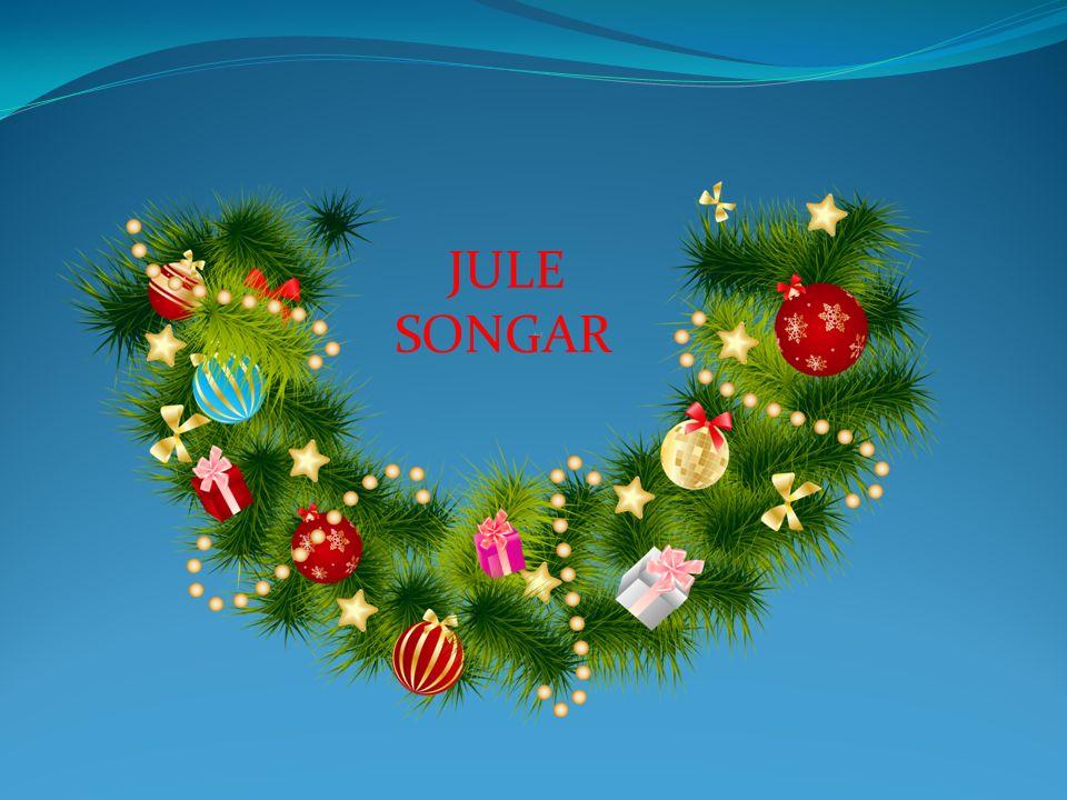 O jul med din glede og barnlige lyst, vi hilser deg alle velkommen.
