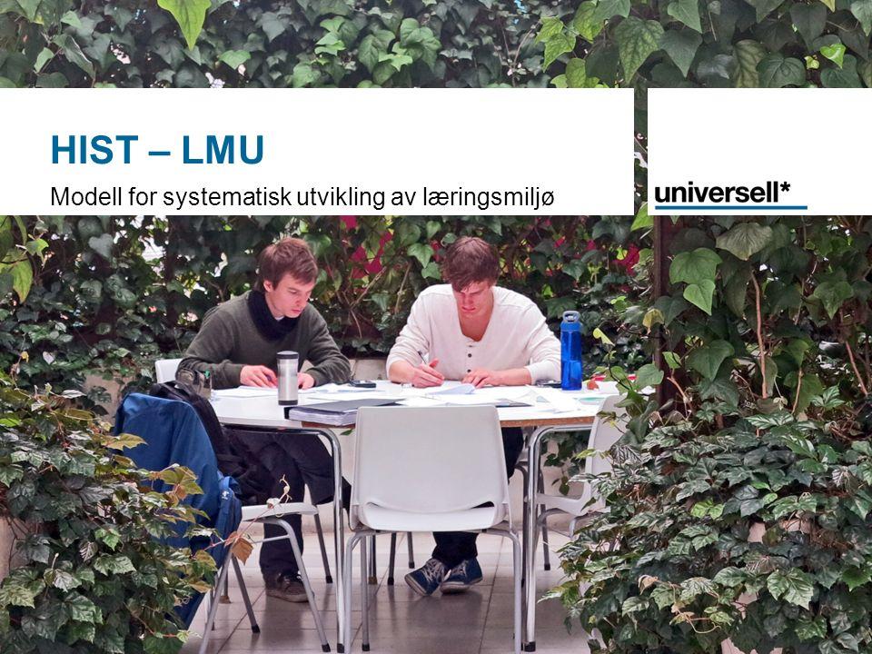 HIST – LMU Modell for systematisk utvikling av læringsmiljø