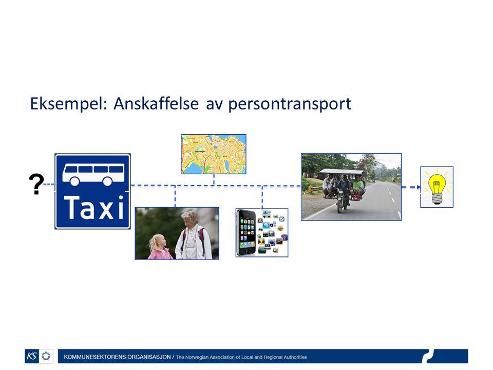 Eksempel: Anskaffelse av persontransport