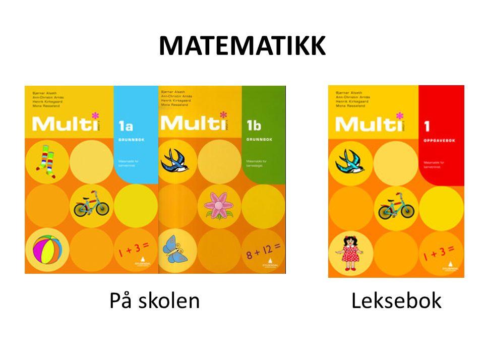 Multibøkene  Læreverk som er utviklet for 1-7 trinn.