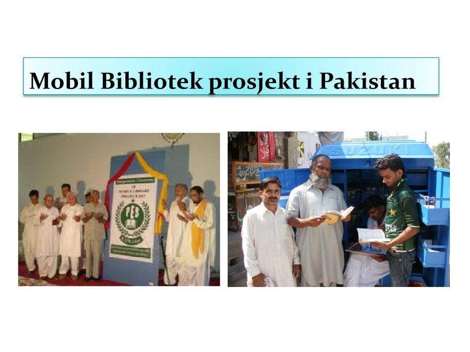Mobil Bibliotek prosjekt i Pakistan