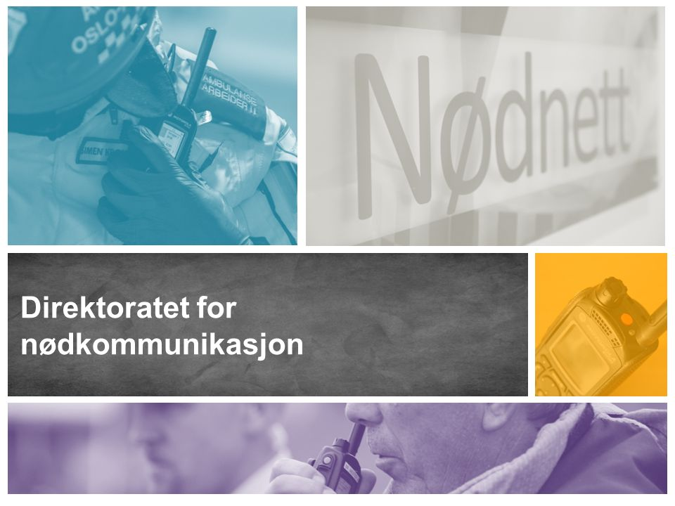 Om Direktoratet for nødkommunikasjon Direktoratet for nødkommunikasjon (DNK) er et statlig forvaltningsorgan med ansvar for drift og utbygging av Nødnett som hovedoppgave.