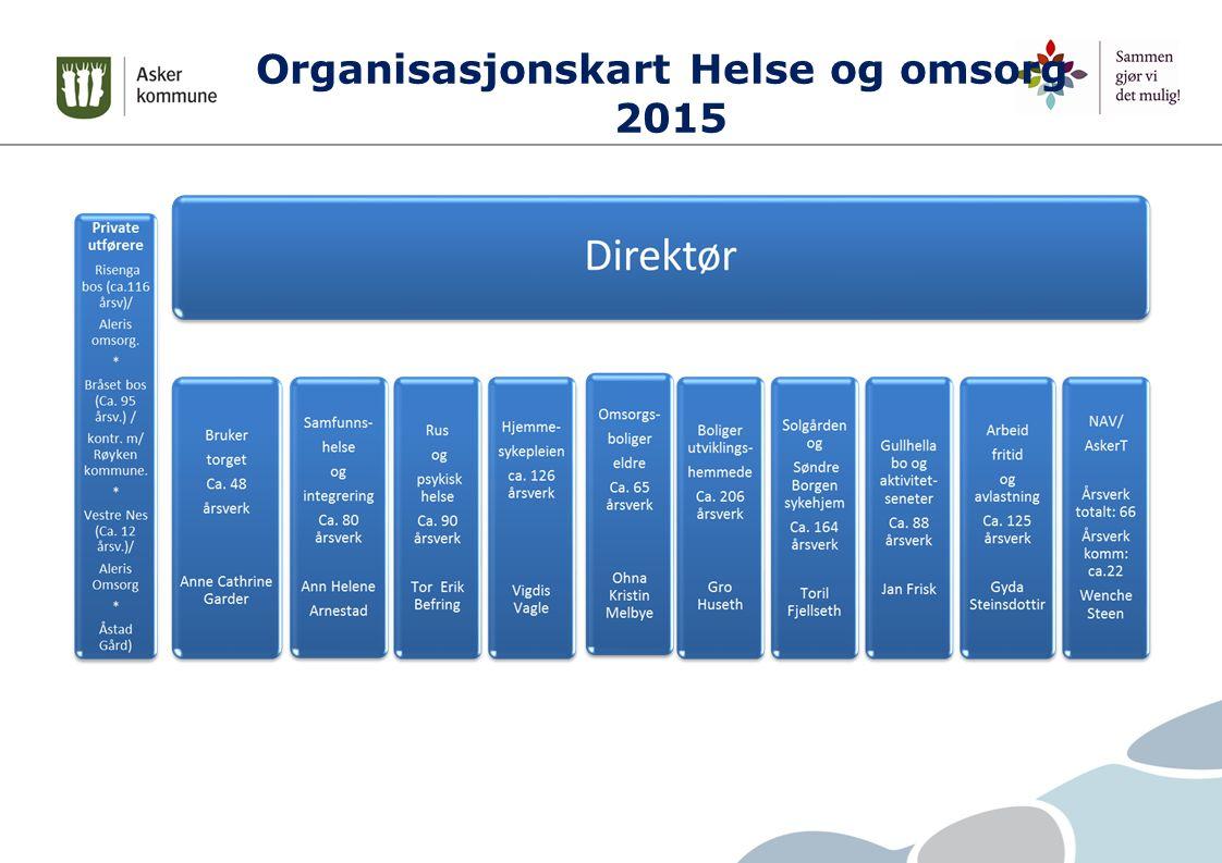 Organisasjonskart Helse og omsorg 2015