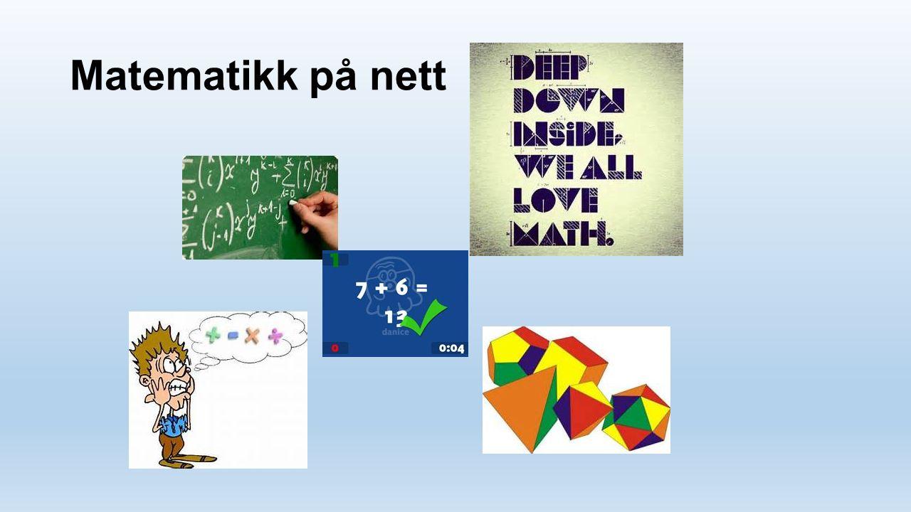 Matematikk på nett