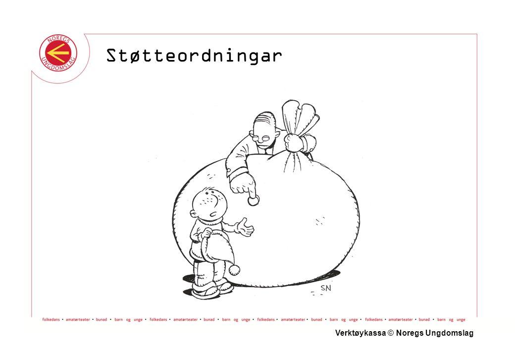 Verktøykassa © Noregs Ungdomslag Støtteordningar