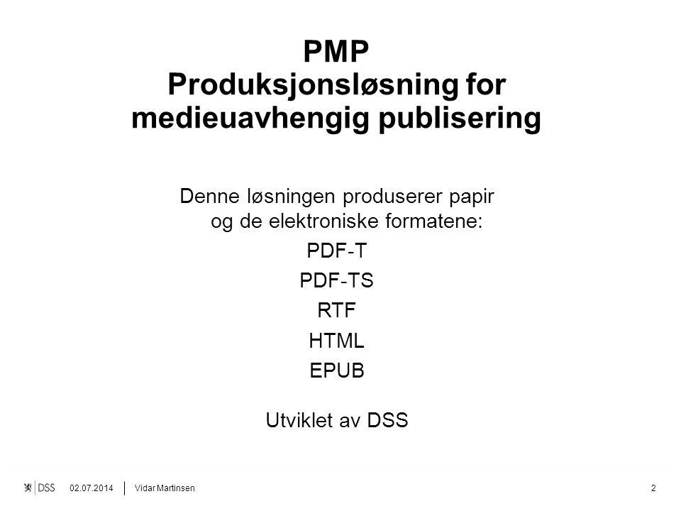 Fargen på tittelen kan endres. Alle definerte farger kan brukes. Denne løsningen produserer papir og de elektroniske formatene: PDF-T PDF-TS RTF HTML