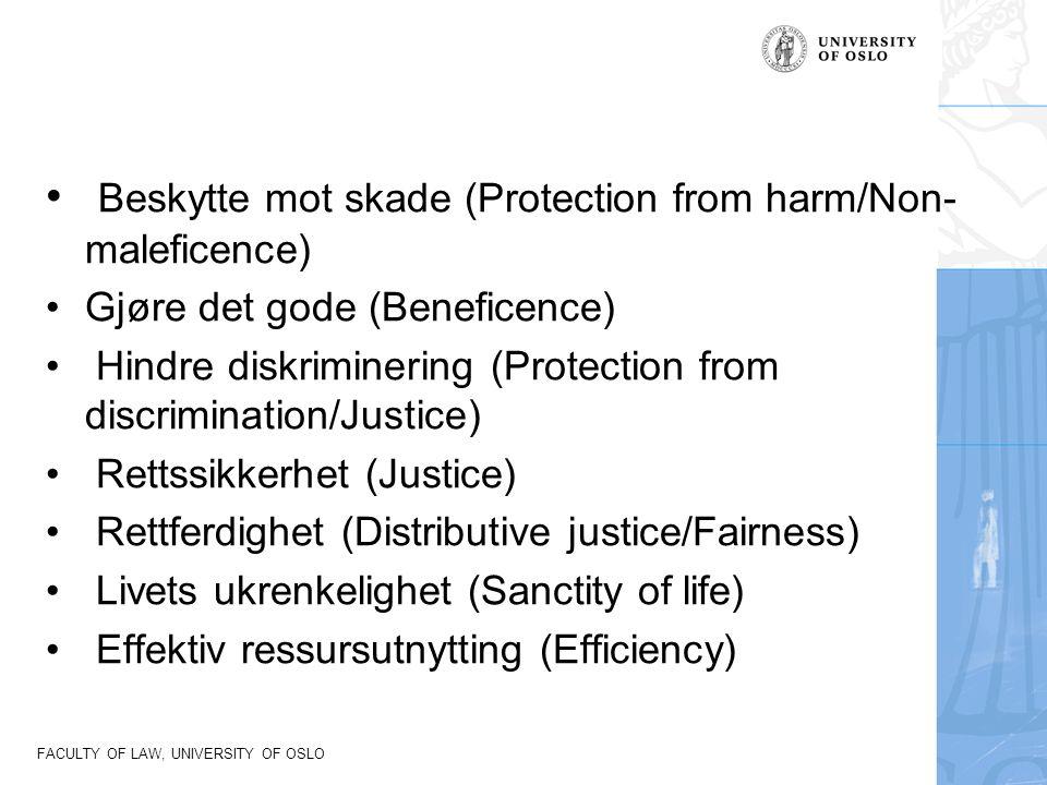 FACULTY OF LAW, UNIVERSITY OF OSLO Mulige hjemmelsgrunnlag for tvang 1.