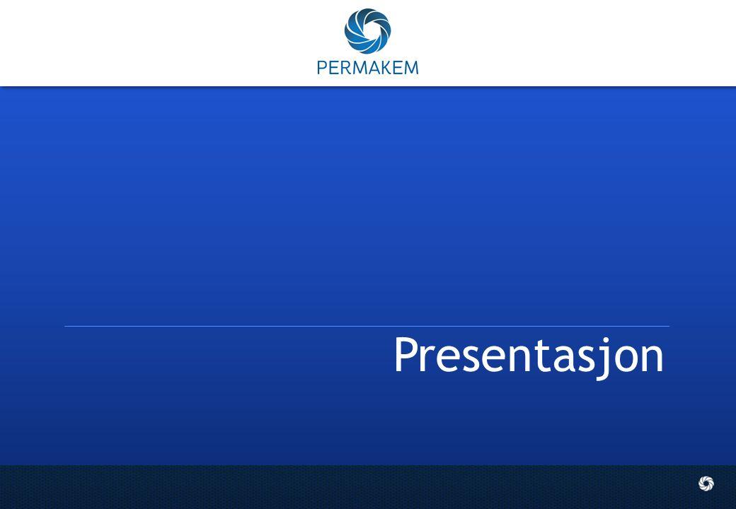 2 Permakem PERMAKEM AS ble etablert i 1992, og viderefører arven etter bl.a.