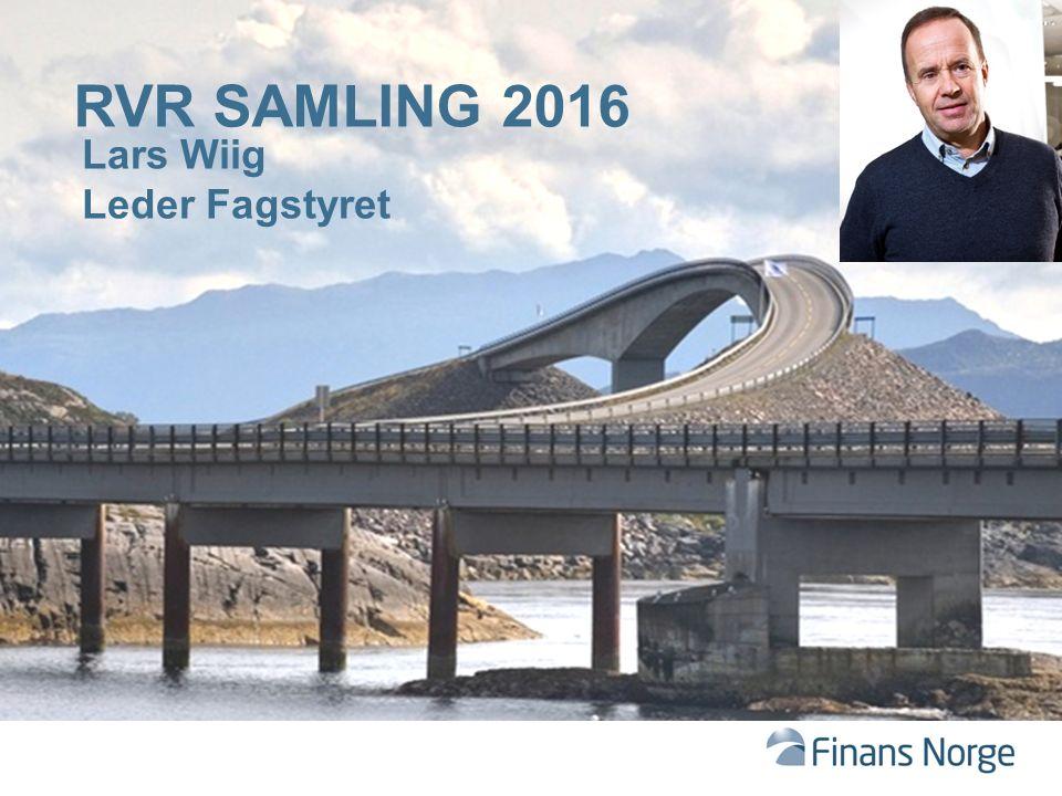 RVR SAMLING 2016 Lars Wiig Leder Fagstyret