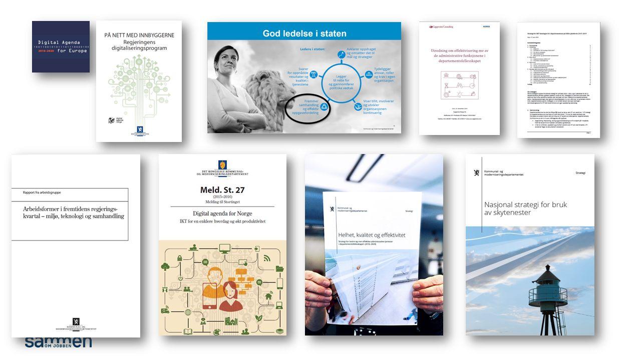 DSS mal: Diagram Tips bunntekst: For å få sidenummer, dato og tittel på presentasjon: Klikk på Sett Inn -> Topp og bunntekst - Huk av for ønsket tekst.