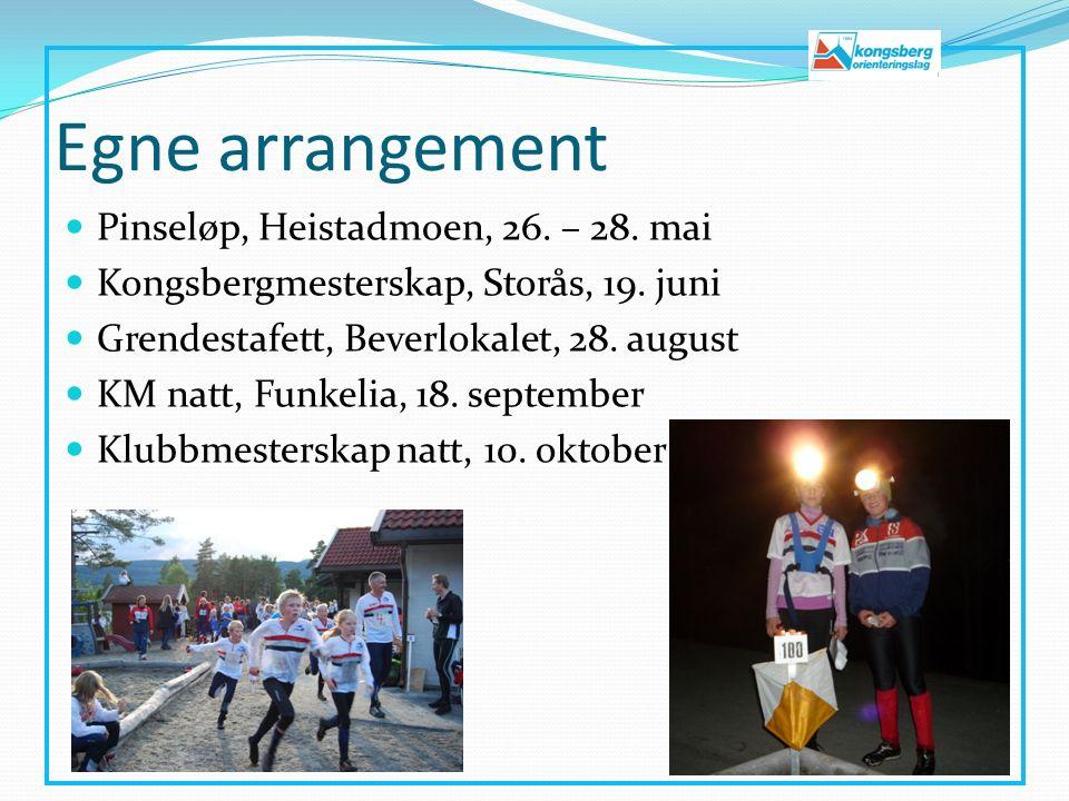 Egne arrangement Pinseløp, Heistadmoen, 26. – 28.
