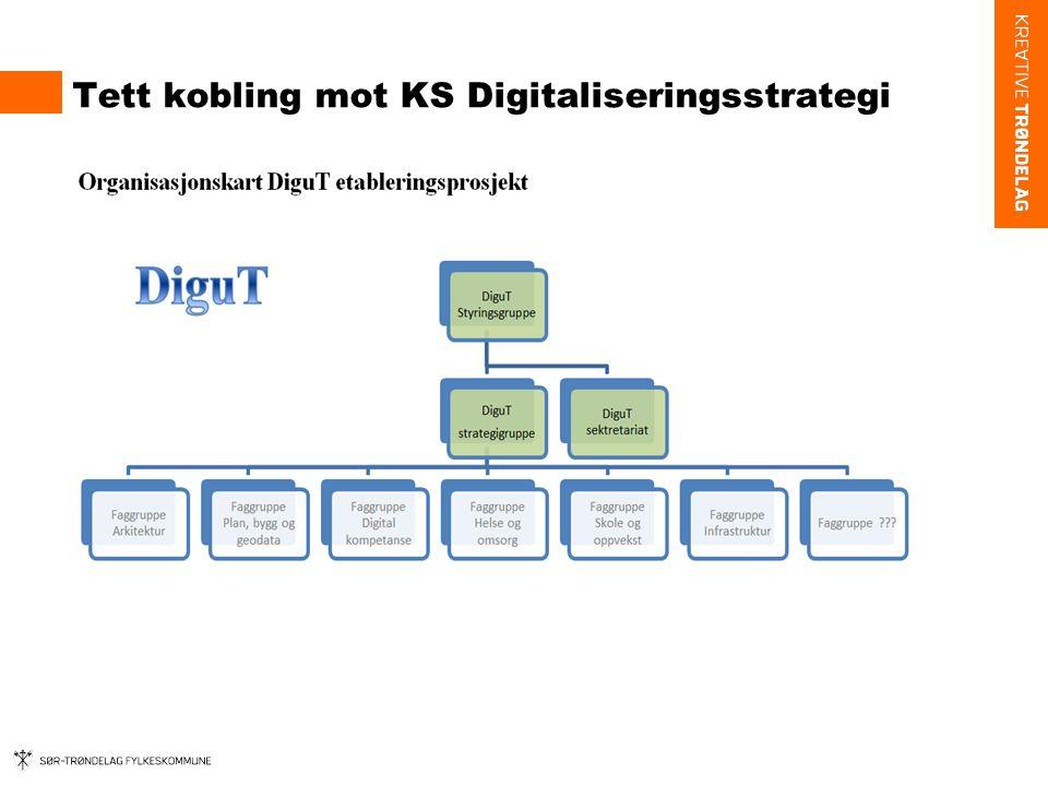 Tett kobling mot KS Digitaliseringsstrategi