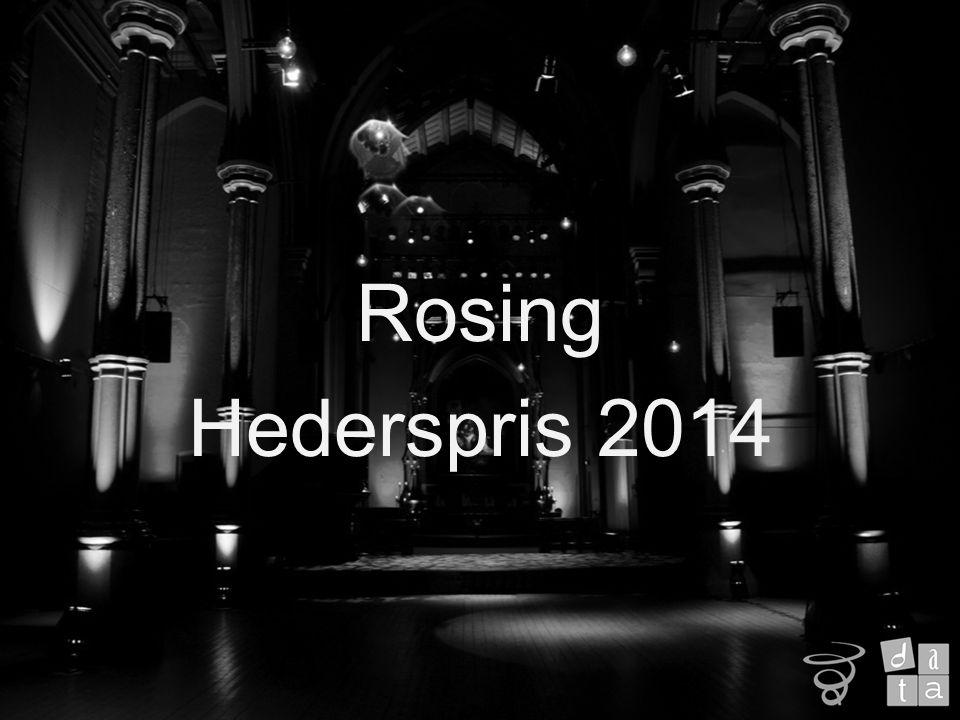 Rosing Hederspris 2014