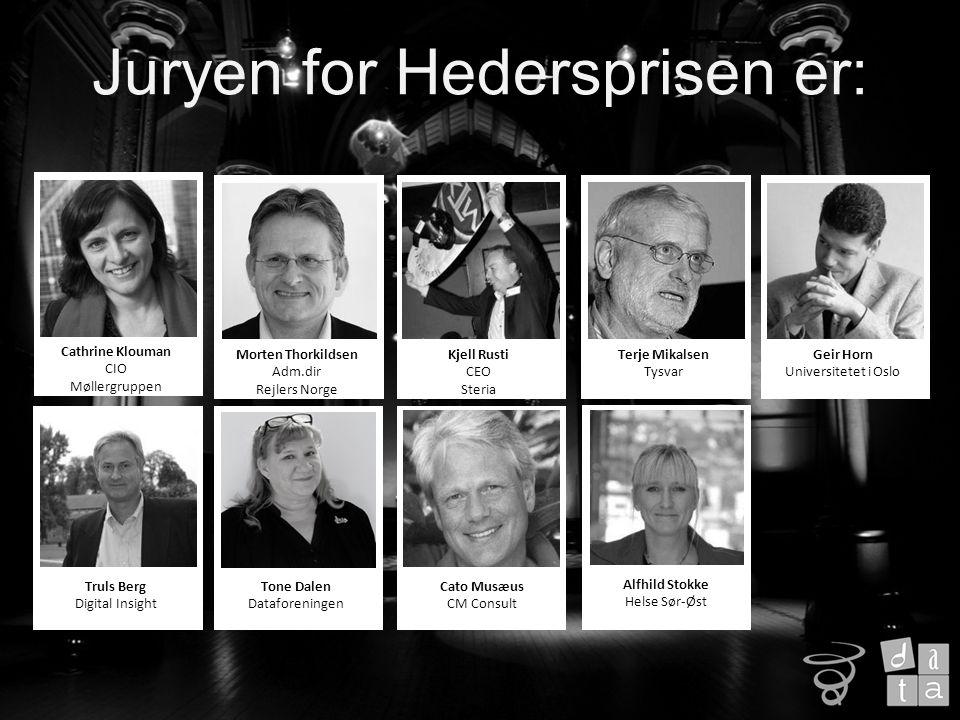 Velkommen til Juryens begrunnelse for vinneren av Hederspris 2014