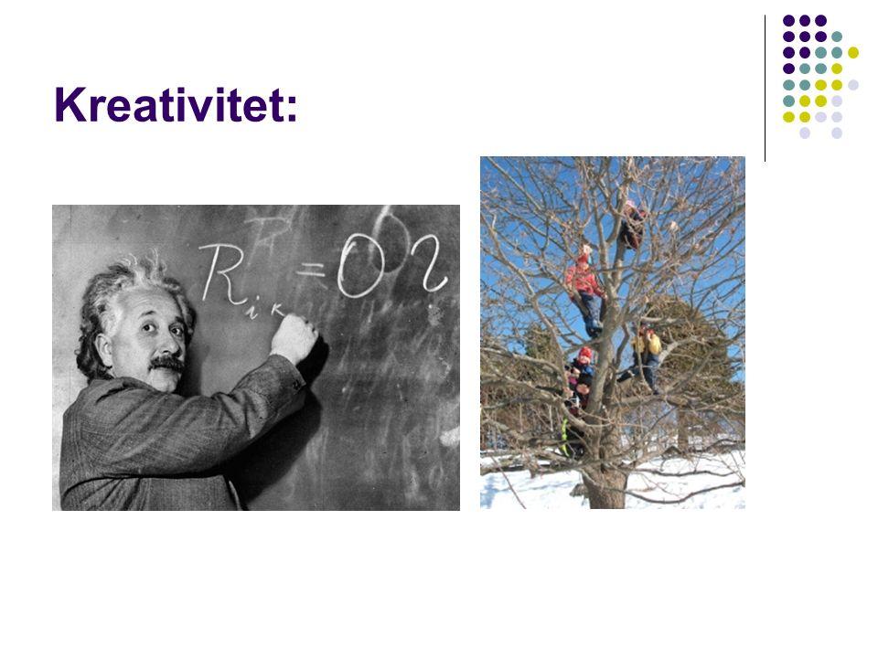 Kreativitet: