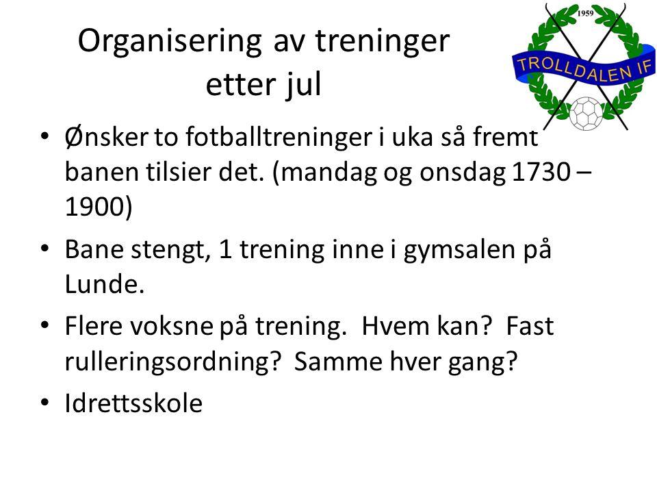 Dugnad Varetelling 1.januar på Bunnpris klokken 1200 Hvem kan?