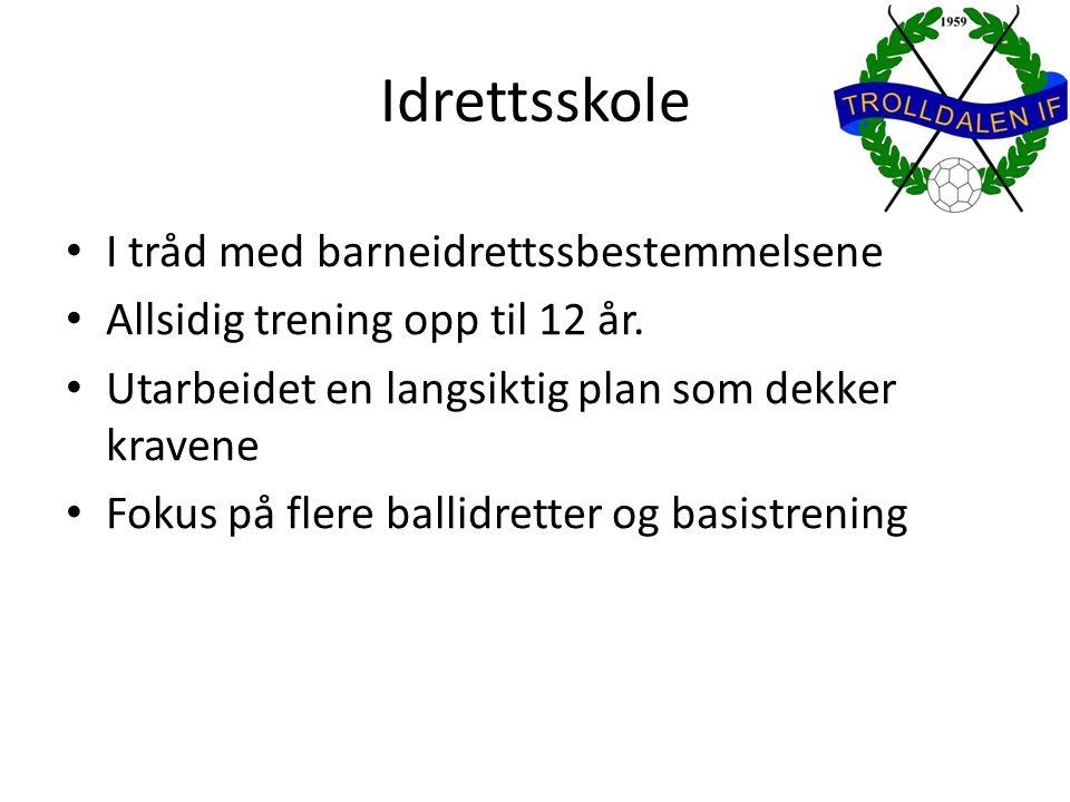 Idrettsskoleplan for 2003 Uke/datoAktivitetKommentar JanuarSkøyter i stjernehallen (1 gang) Lørdag formiddag med aktiviteter i marka etterpå.