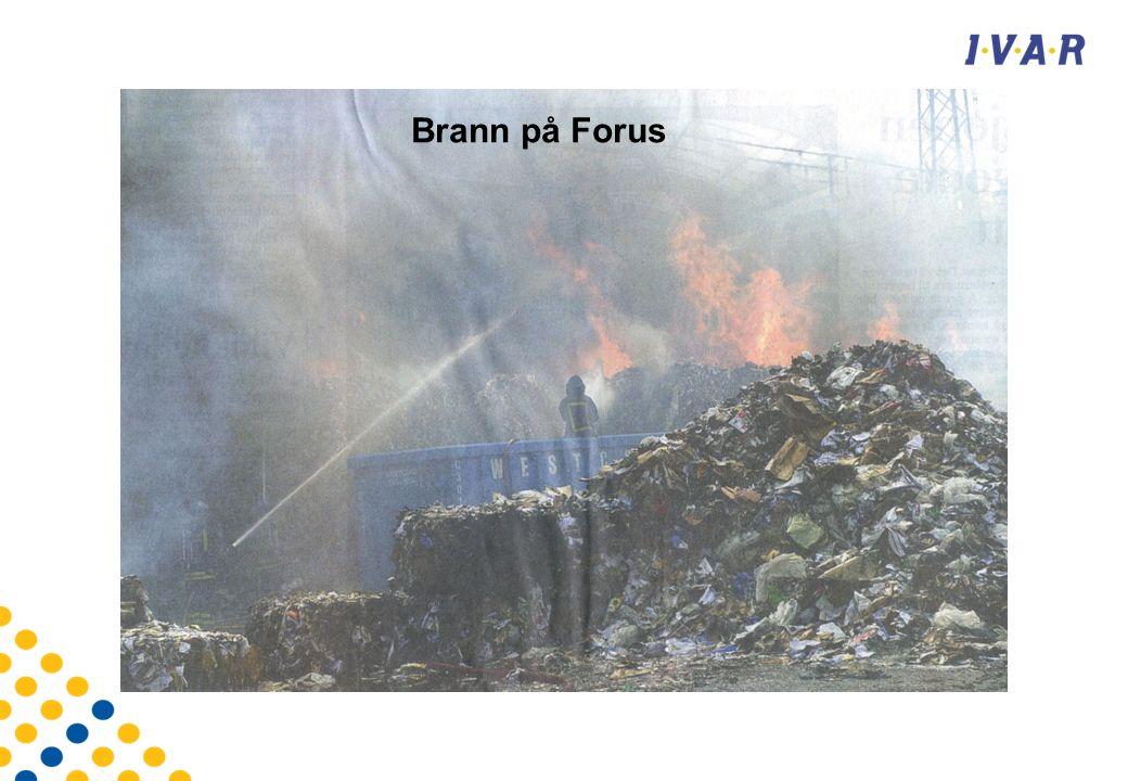 Brann på Forus