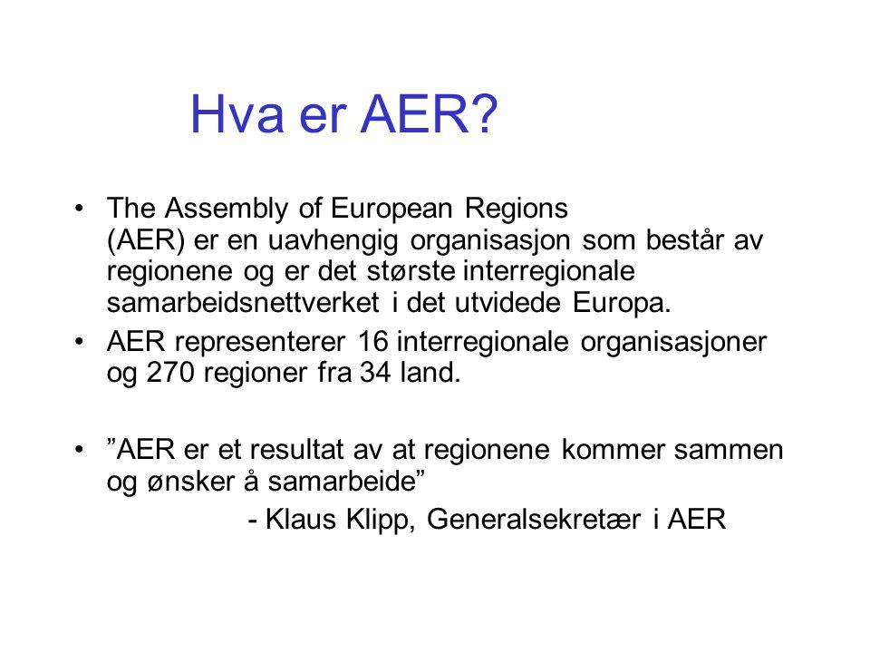 Hva er AER.