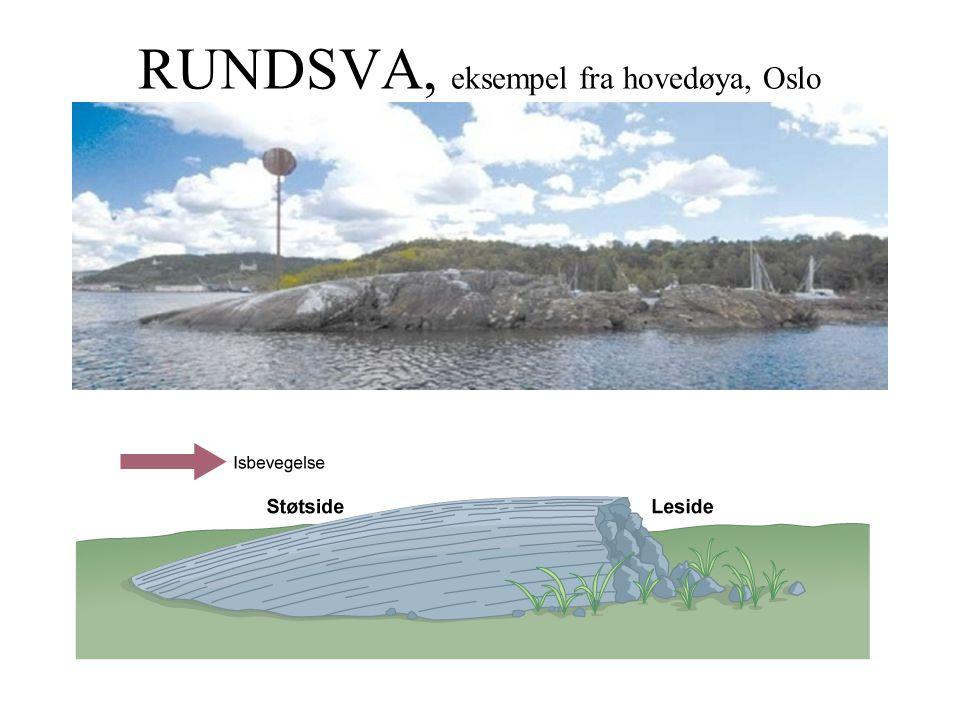 RUNDSVA, eksempel fra hovedøya, Oslo