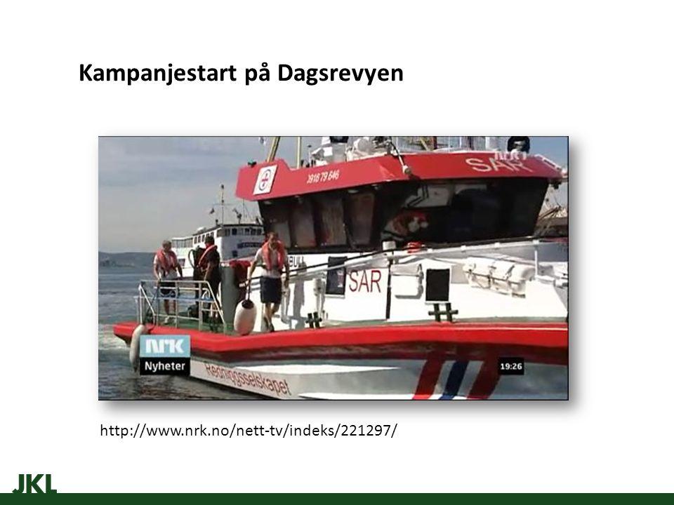 Kampanjestart på Dagsrevyen http://www.nrk.no/nett-tv/indeks/221297/
