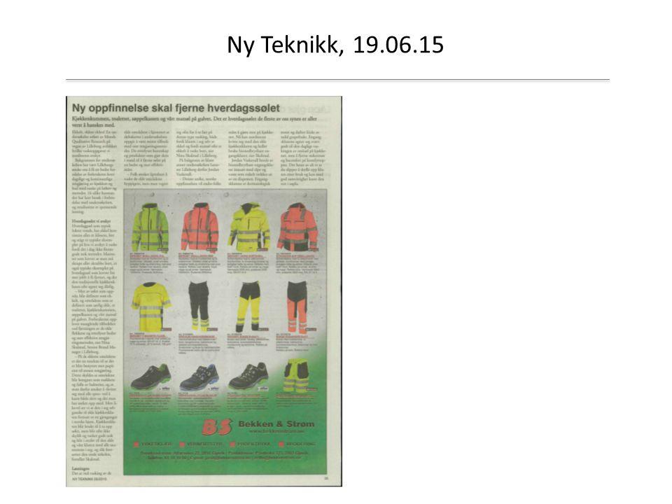 Ny Teknikk, 19.06.15