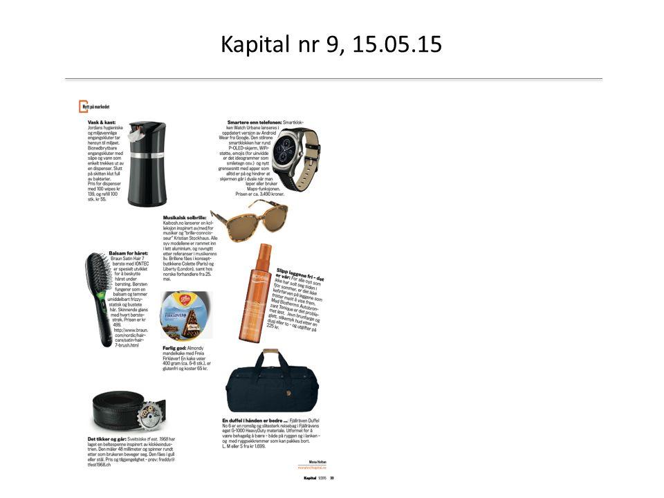 Kapital nr 9, 15.05.15