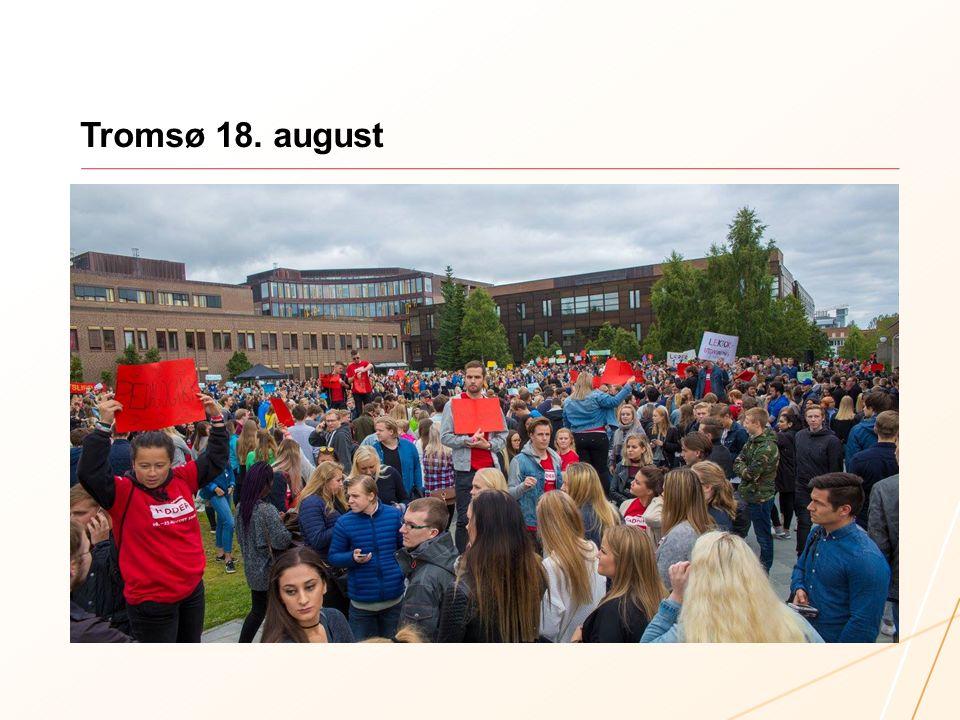 Tromsø 18. august