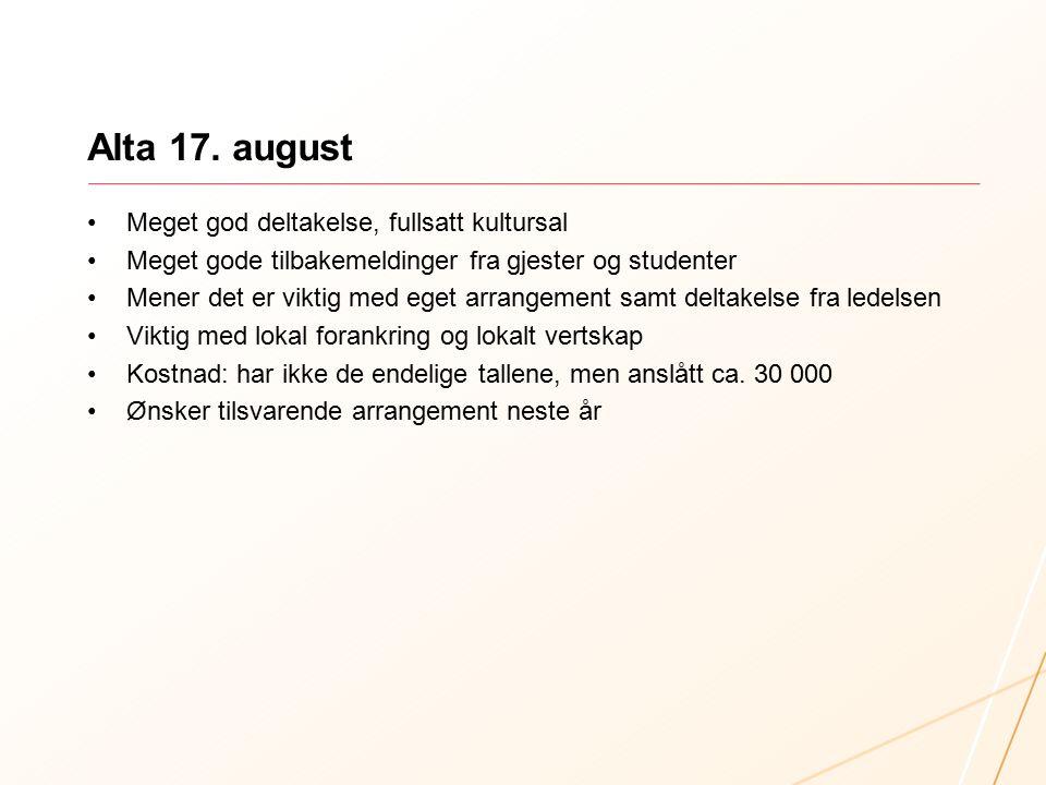 Harstad 18. august