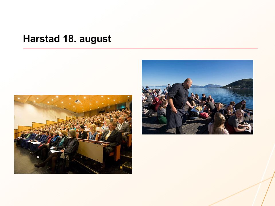 Allment vurdert som et meget vellykket arrangement i Stort Auditorium Fullsatt auditorium Programmet som helhet hang veldig godt sammen – både de musikalske innslagene med Marthe Valle og gode og vel forberedte taler og hilsninger.