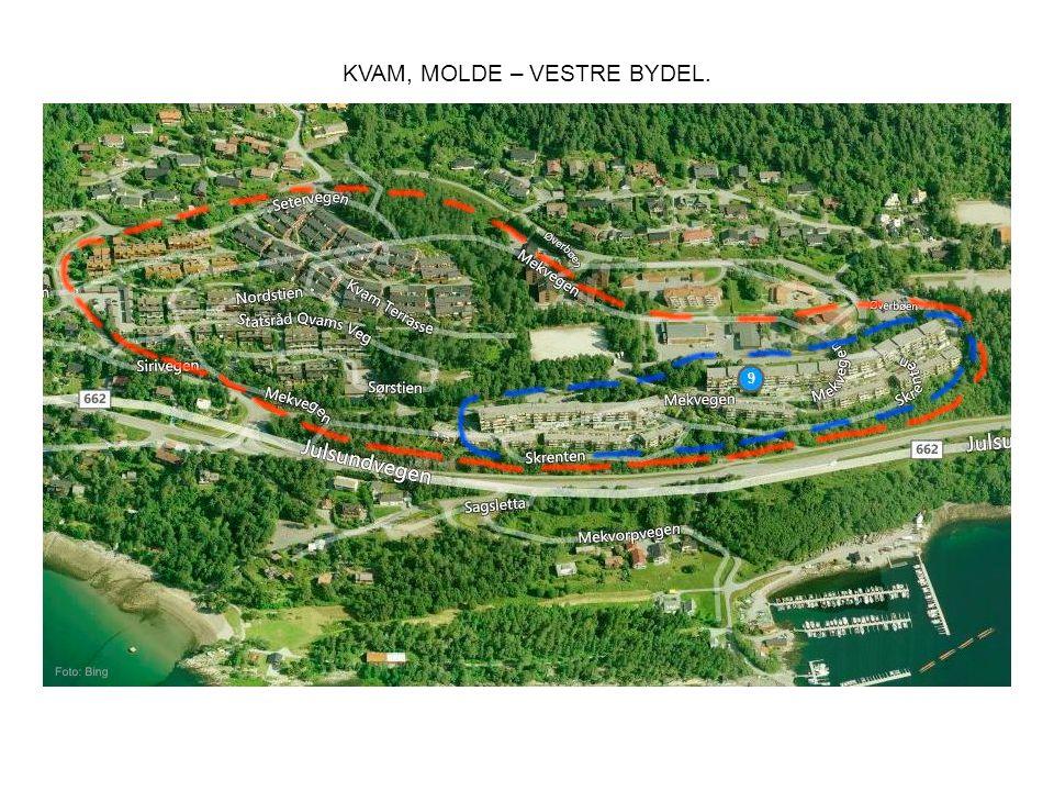 KVAM, MOLDE – VESTRE BYDEL.