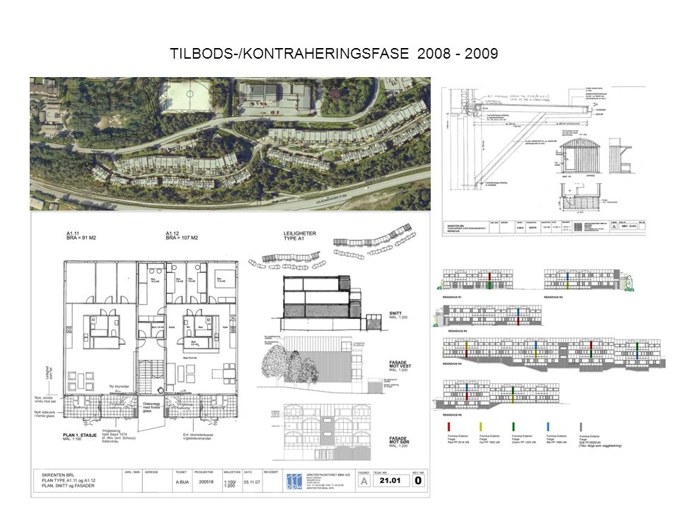 TILBODS-/KONTRAHERINGSFASE 2008 - 2009