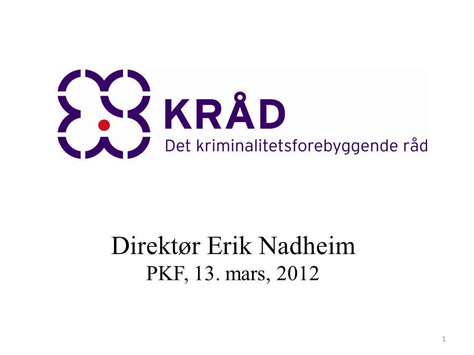 Direktør Erik Nadheim PKF, 13. mars, 2012 1