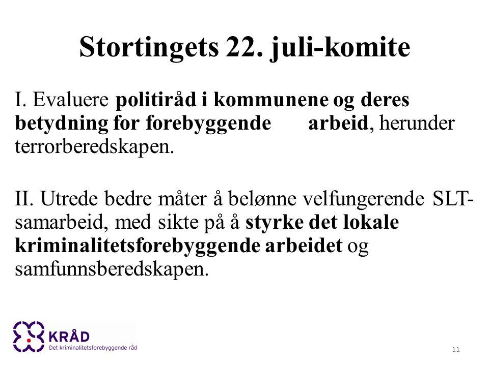 Stortingets 22. juli-komite I.