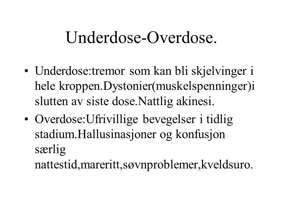 Underdose-Overdose.