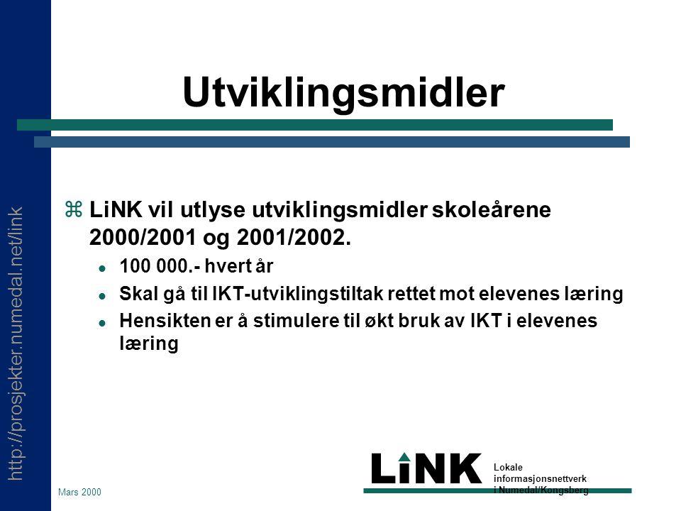 http://prosjekter.numedal.net/link LINK Lokale informasjonsnettverk i Numedal/Kongsberg Mars 2000 Hva er WiT